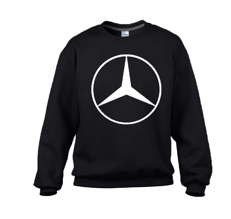 mercedes benz star crewneck sweater technik apparel