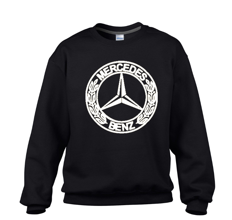 Mercedes benz crewneck sweater technik apparel for Mercedes benz wear