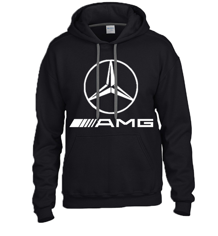 mercedes benz amg star hooded sweater sweatshirt hoodie. Black Bedroom Furniture Sets. Home Design Ideas